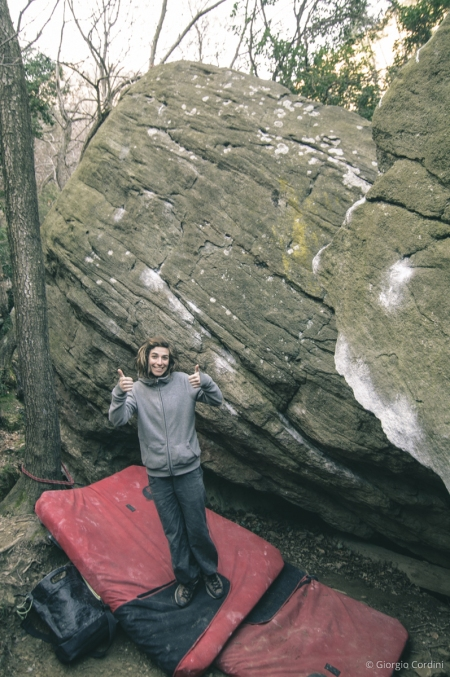 varazze bouldering and camping